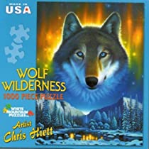 Wolf Wilderness 1000 Piece Puzzle by White Mountain Puzzles
