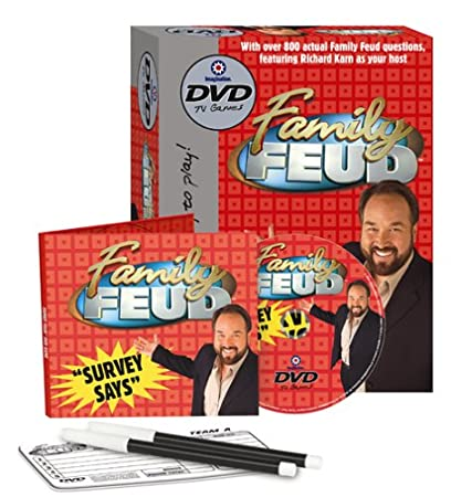 Family Feud DVD Game: Amazon ca: Toys & Games