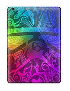 New Style Hot Snap-on Rainbow Trooper Hard Cover Case/ Protective Case For Ipad Air 5773220K51707991