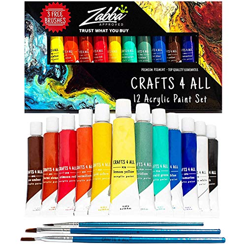 Acrylic Paint Set 12