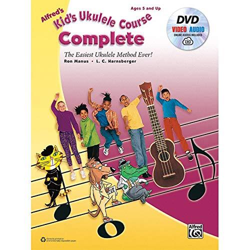 Alfred's Kid's Ukulele Course, CompleteUkulele Book, DVD & Online Audio & Video