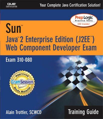 Sun Web Component Developer Exam: Exam 310-080