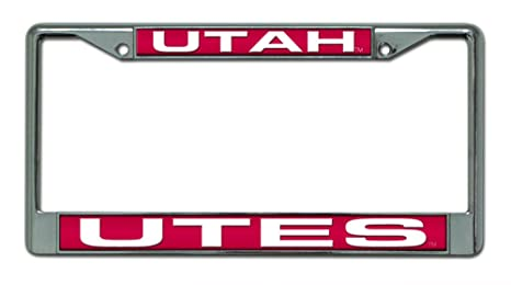 Amazon.com : Rico Industries NCAA Utah Utes Laser Cut Inlaid ...