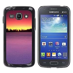 Be Good Phone Accessory // Dura Cáscara cubierta Protectora Caso Carcasa Funda de Protección para Samsung Galaxy Ace 3 GT-S7270 GT-S7275 GT-S7272 // Sunset Beautiful Nature 75