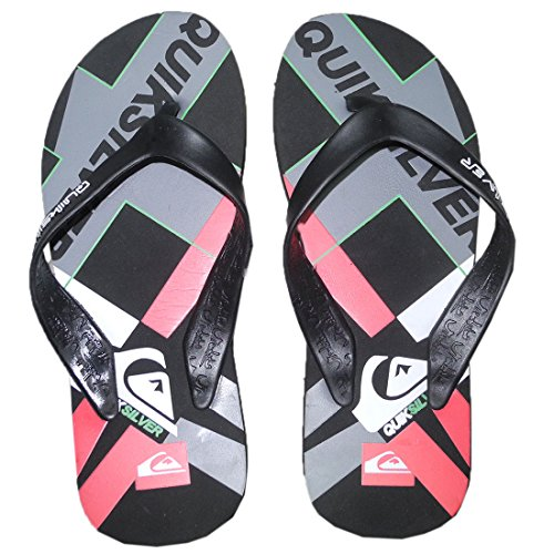 Mens Sandals Flop Thongs Multicolor Quiksilver Rubber Beach Flip Slippers Hdwqfpxt
