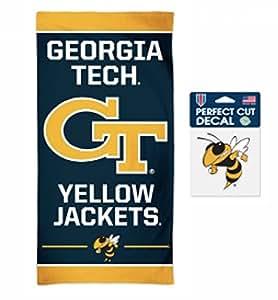 Amazon.com : NCAA Georgia Tech Yellowjackets 30 x 60 inch ...