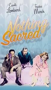 Nothing Sacred [VHS]