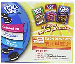 Pop-Tarts, Frosted Cookies & Cream, 21.1 Ounce, Pack of 6