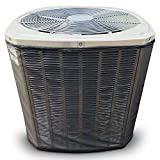Custom All Season Mesh Air Conditioner Cover for Your Exact Make and Model- Protection from Leaves, Debris, Cottonwood, Grass Clippings and More.3-Year Warranty