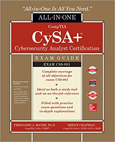 amazon com comptia cysa cybersecurity analyst certification all in