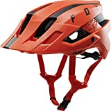 Fox Racing Flux Helmet Solid Orange Crush, L/XL