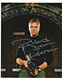Richard Dean Anderson hand-signed 8 x 10 Stargate photo C of A