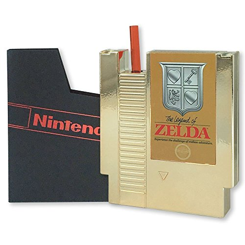 The Legend of Zelda Gold NES Cartridge Flask Canteen [Just Funky]