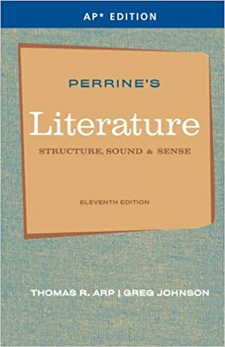 Amazon perrines literature structure sound sense ap perrines literature structure sound sense ap edition 11th edition fandeluxe Choice Image