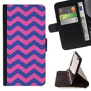 For Samsung Galaxy Core Prime / SM-G360 Case , Modelo púrpura del rosa femenino- la tarjeta de Crédito Slots PU Funda de cuero Monedero caso cubierta de piel