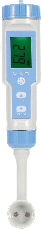 IP67 PH Meter Waterproof Salinity Meter Tester or Food High Accuracy Salt Accuracy Concentration Measuring Salinometer Digital Measurement Range Quality