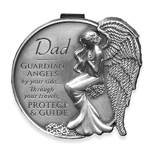 Dad Guardian Angel Visor Clip (Dad Visor Clip)