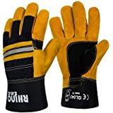 RHINOtec Size 10 Heavy Duty Rigger Glove (GL043) - Comes With RHINOtec PU Coated Gloves
