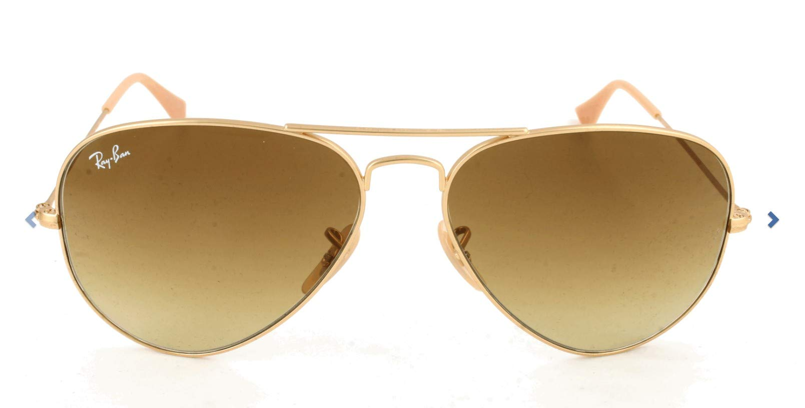 RAY-BAN RB3025 Aviator Large Metal Sunglasses, Gold/Grey Gradient, 62 mm by RAY-BAN