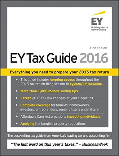 Ey Tax Guide 2016  Ernst   Young Tax Guide