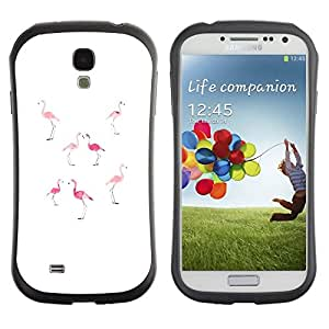 "Pulsar iFace Series Tpu silicona Carcasa Funda Case para SAMSUNG Galaxy S4 IV / i9500 / i9515 / i9505G / SGH-i337 , Rosa melocotón blanco minimalista Florida"""