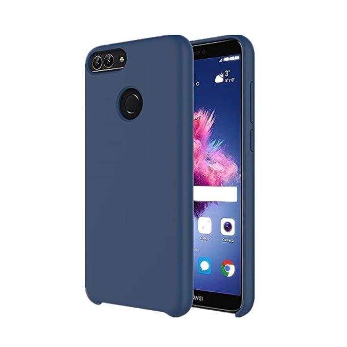 8d4ed1a5a6a Honor 9 Lite Funda Silicona Teléfono Caso Suave Colores del Caramelo con Superfino  Pelusa Forro,