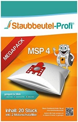 SFAC1 20  Staubsaugerbeutel passend für Miele Complete C2 Parquet PowerLine
