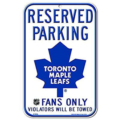NHL Toronto Maple Leafs 11-by-17 Inch Sign