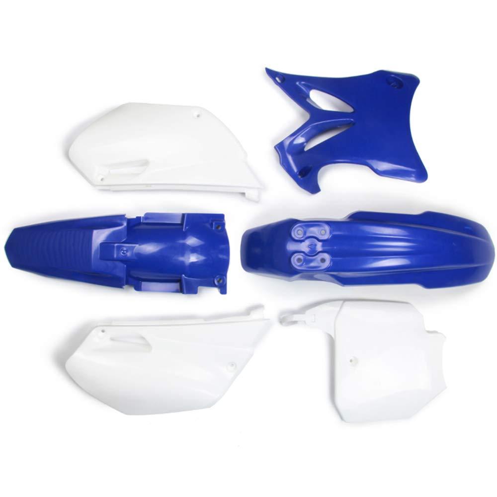 Kit de Carénages garde-boues avant et arrière avec caches latéraux en plastique ABS - Pour Yamaha YZ 85,YZ 85 2002-2014