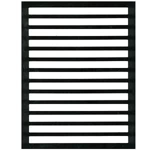 Letter Writing Guide - Regular Black Plastic