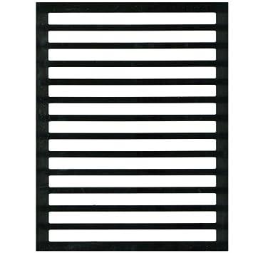 amazon com letter writing guide regular black plastic health