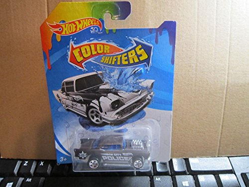 Shift Chevy (HOT WHEELS COLOR SHIFTERS '57 CHEVY HOT WHEELS 50 YEARS HW CITY POLICE)