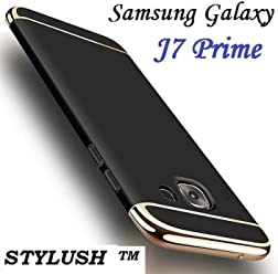 a7f6bf70c9 STYLUSH, Samsung J7 Prime CASE: Luxury 360 Degree Protection 3in1 Back Case  Cover for