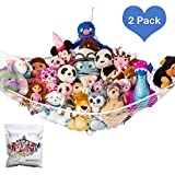 """Lillys Love Stuffed Animal Storage Hammock - Large Pack 2 """"STUFFIE PARTY HAMMOCK"""" Large by"""