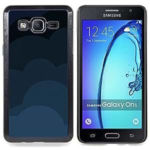 SKCASE Center / Funda Carcasa protectora - Nubes Patrón;;;;;;;; - Samsung Galaxy On5 O5