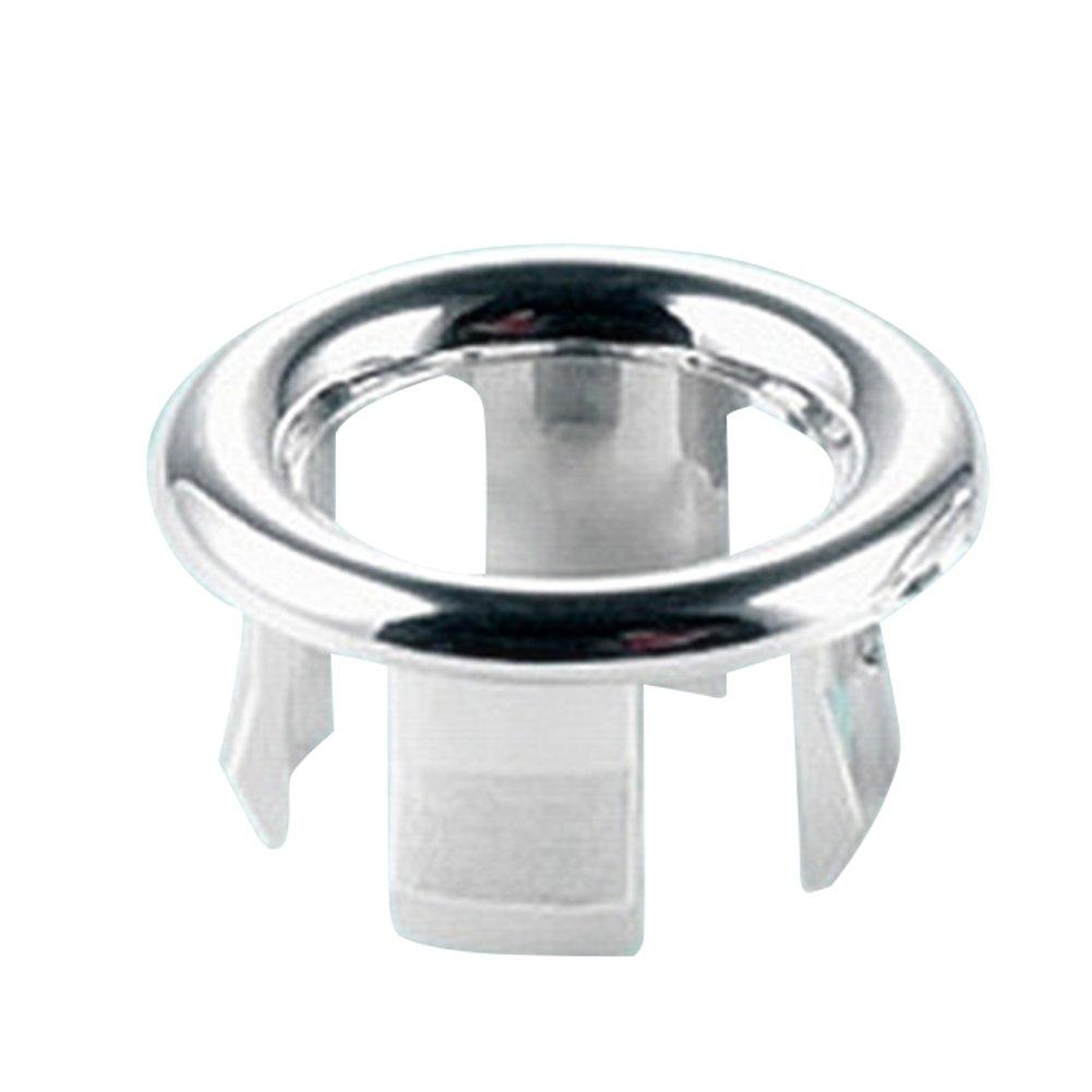 Filtro per Scarico del lavello del Bagno con Anello Rotondo per troppopieno szyzl88 Set di 2 filtri di Ricambio per lavello da Cucina Forma 2