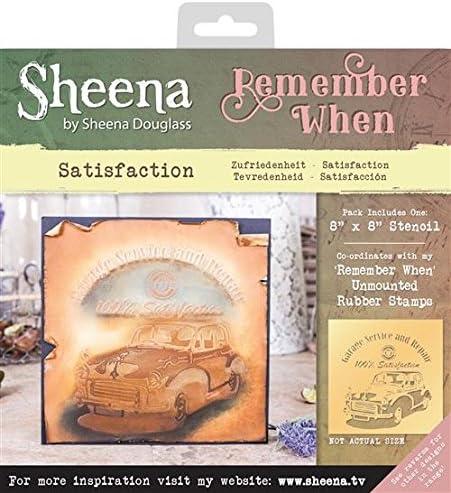 Sheena Douglass Remember When Stencils Transparent Satisfaction