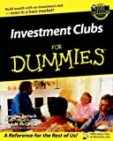 Investment Clubs for Dummies? (For Dummies (Lifestyles Paperback))