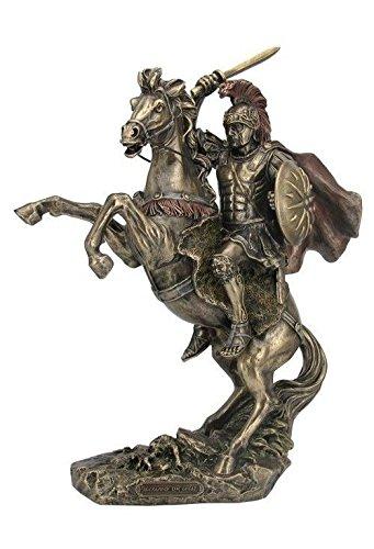 Veronese (ヴェロネーゼ) アレクサンダー アレクサンドロス 馬 ブロンズ風 フィギュア B0728C29PS