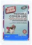Simple Solution Washable Diaper Cover Ups, Medium, Pink/Purple or Blue/Black