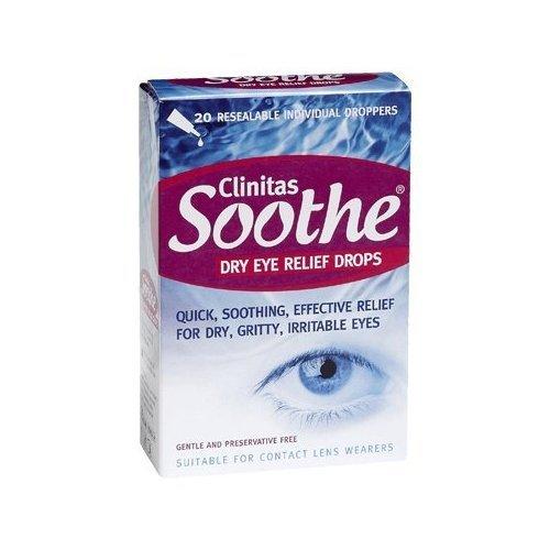 Clinitas Soothe Lubricant Eye Drops Altacor 5060156070000