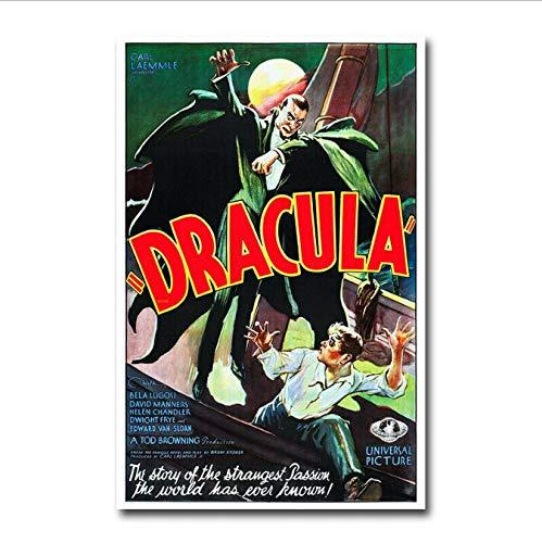 yhnjikl Carteles Y Estampas Drácula Vampiro Antiguo Película ...
