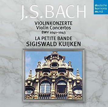 バッハ:ヴァイオリン協奏曲集