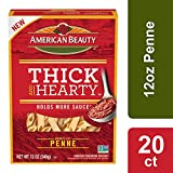 American Beauty Thick n Hearty Penne, 12-Ounce (Pack of 20)
