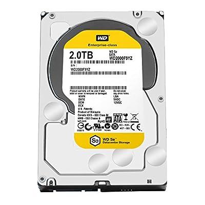 WD SE 2TB Datacenter Hard Disk Drive - 7200 RPM SATA 6 Gb/s 64MB Cache 3.5 Inch - WD2000F9YZ