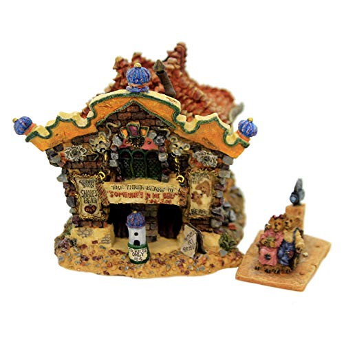 Boyds Bears Resin The Roxbeary Theater Bearly-Built Villages - Resin 4.00 IN