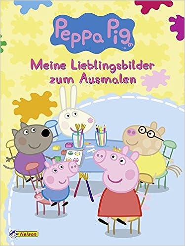 Peppa Meine Lieblingsbilder Zum Ausmalen Amazonde Bã¼cher
