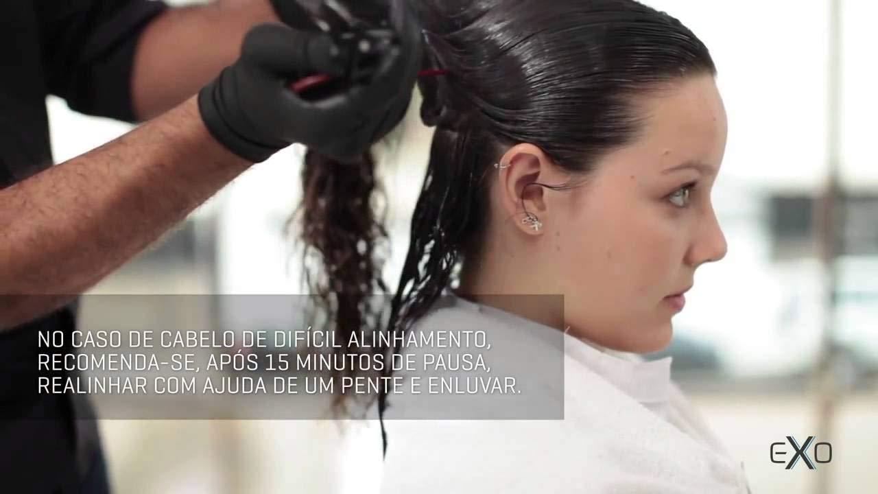 Exoplastia Capilar Original Exoplasty Capillary Brazilian Hair Smoothing Keratin Nanotech STEP 2 ONLY 1 LITRE by EXO (Image #1)