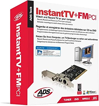ADS Tech InstantTV FM PCI Drivers for Windows
