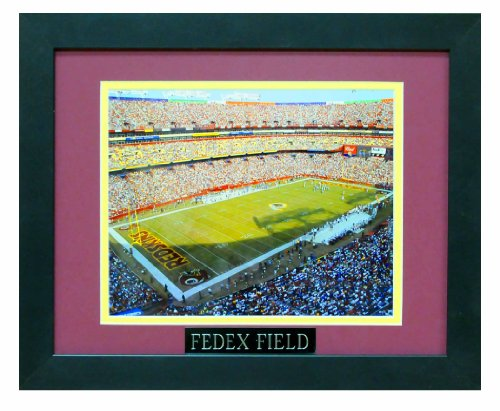 Fedex Field - Home of the Washington Redskins Professionally Matted an Framed 8x10 Photo to an -